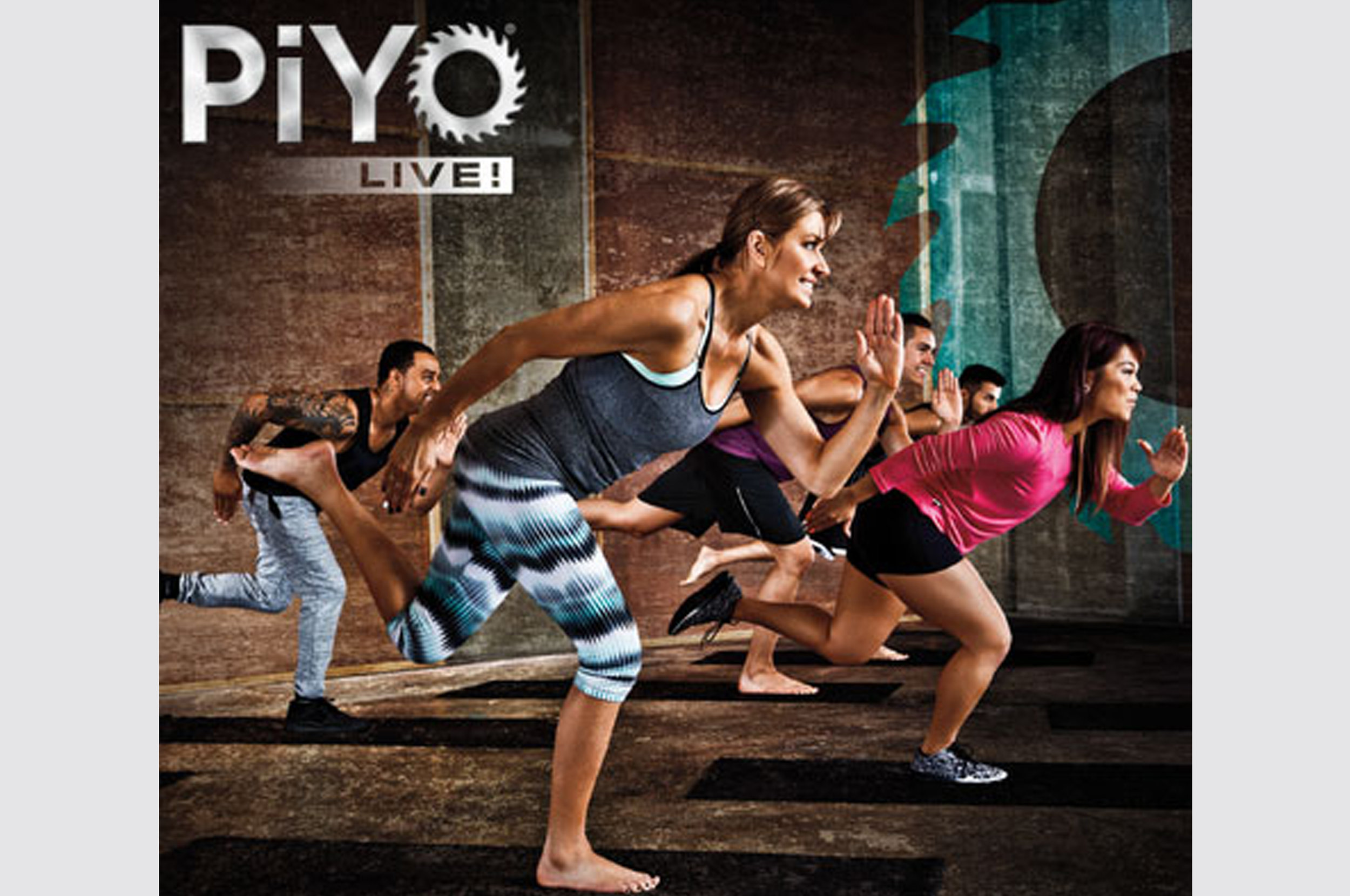 PiYO - This popular Beach Body program is founded in pilates and yoga based movements but has a strong strength, flexibility and core foundation. It's done to the beat of high energy movement, add some dance movement and you have a great class to add into your current fitness program!