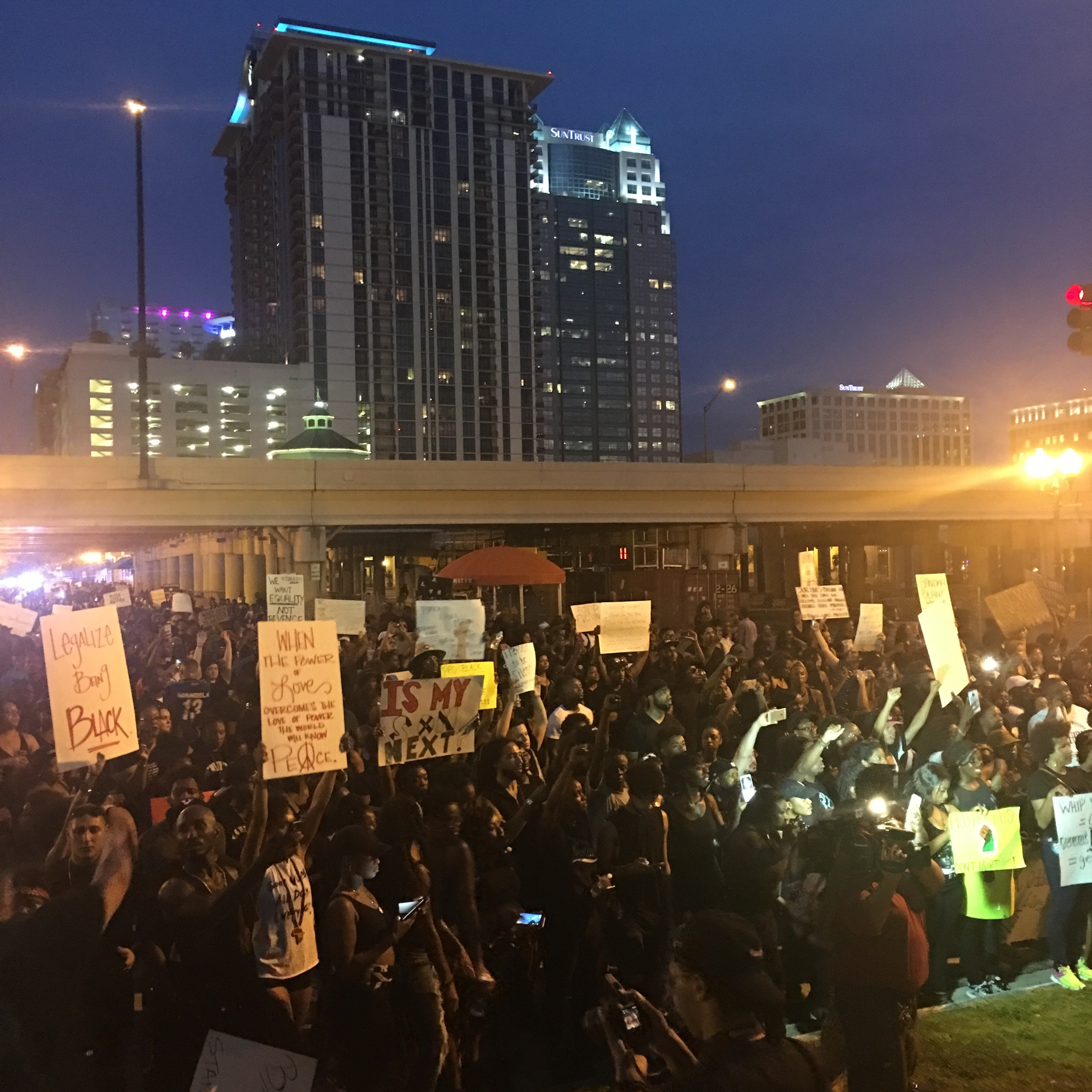 Orlando Blackout March