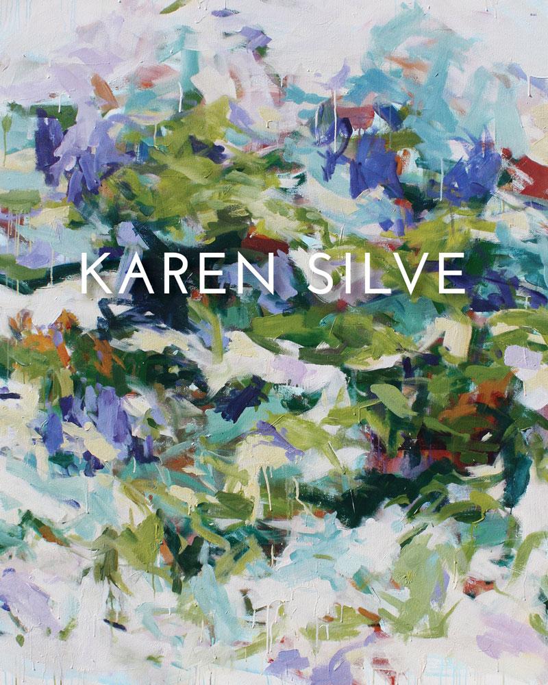 Catalog Cover, Karen Silve, Essay by Peter Frank