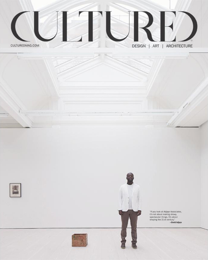— Cultured Magazine, Feb/Mar 2015  Derring Hall featured Elias Associates' project with Silve's Artwork as the primary image.