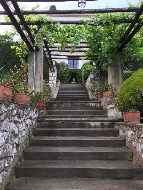 institut de français, le jardin
