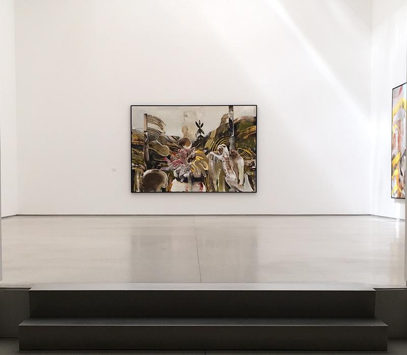 Adrian Ghenie - installation at Galerie Thaddaeus Ropac