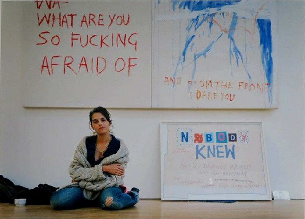 Tracey Emin. November 7, 2002 by Jason Schmidt , 2002