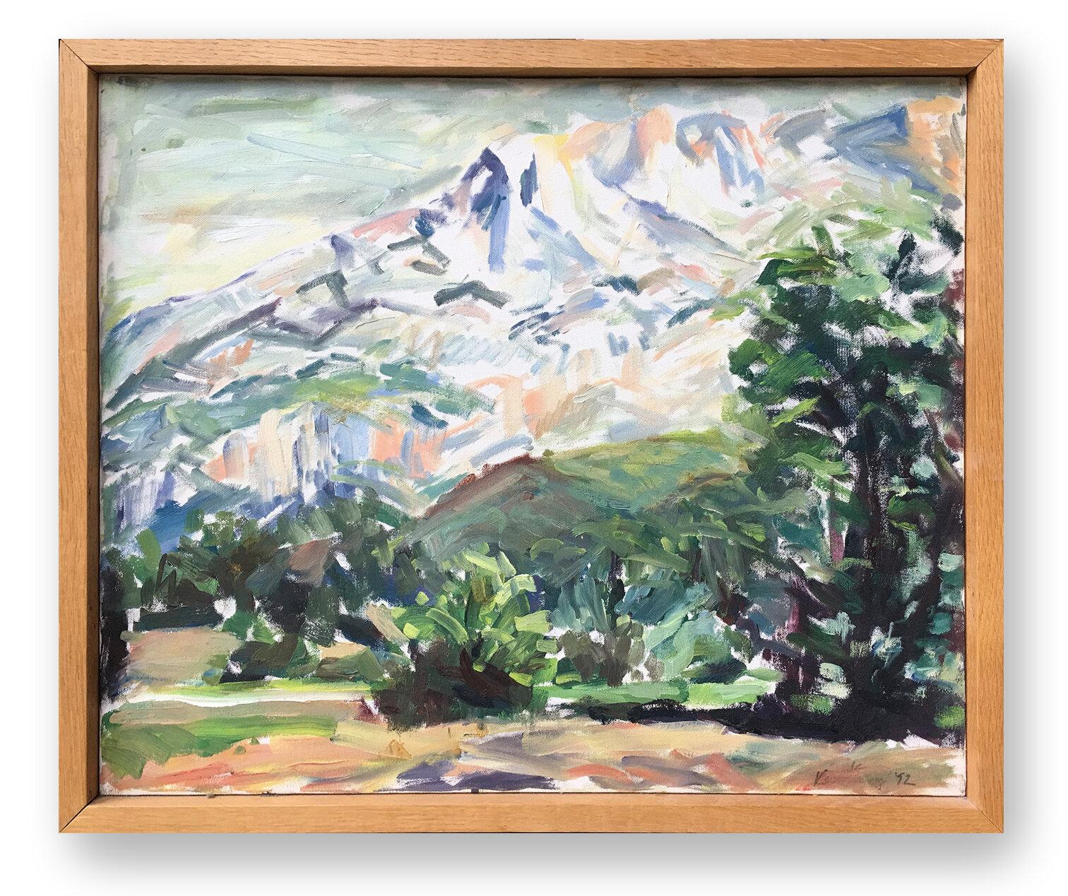 Karen Silve, Mont Sainte-Victoire, 1992