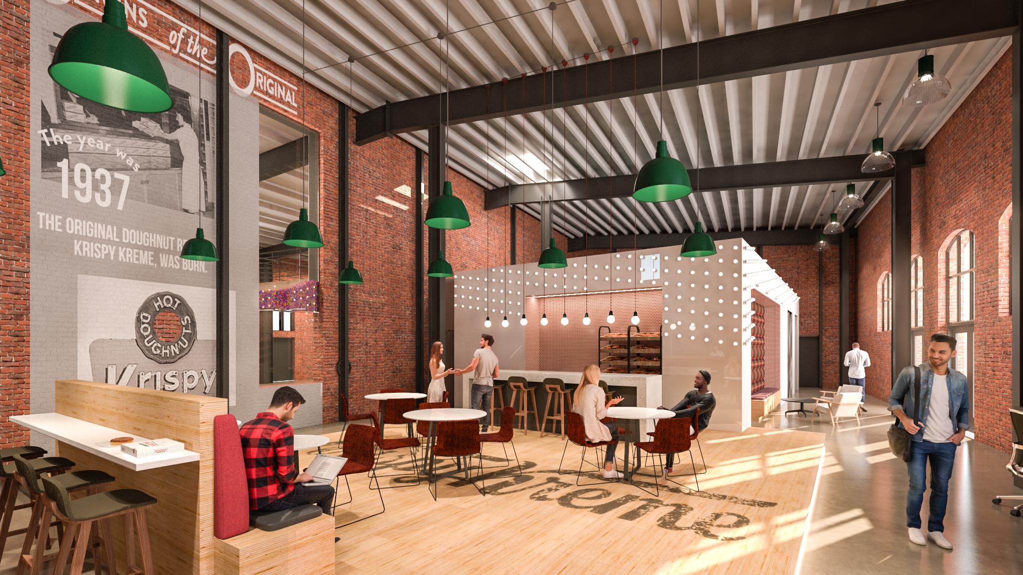 Krispy Kreme Headquarters, Charlotte, NC