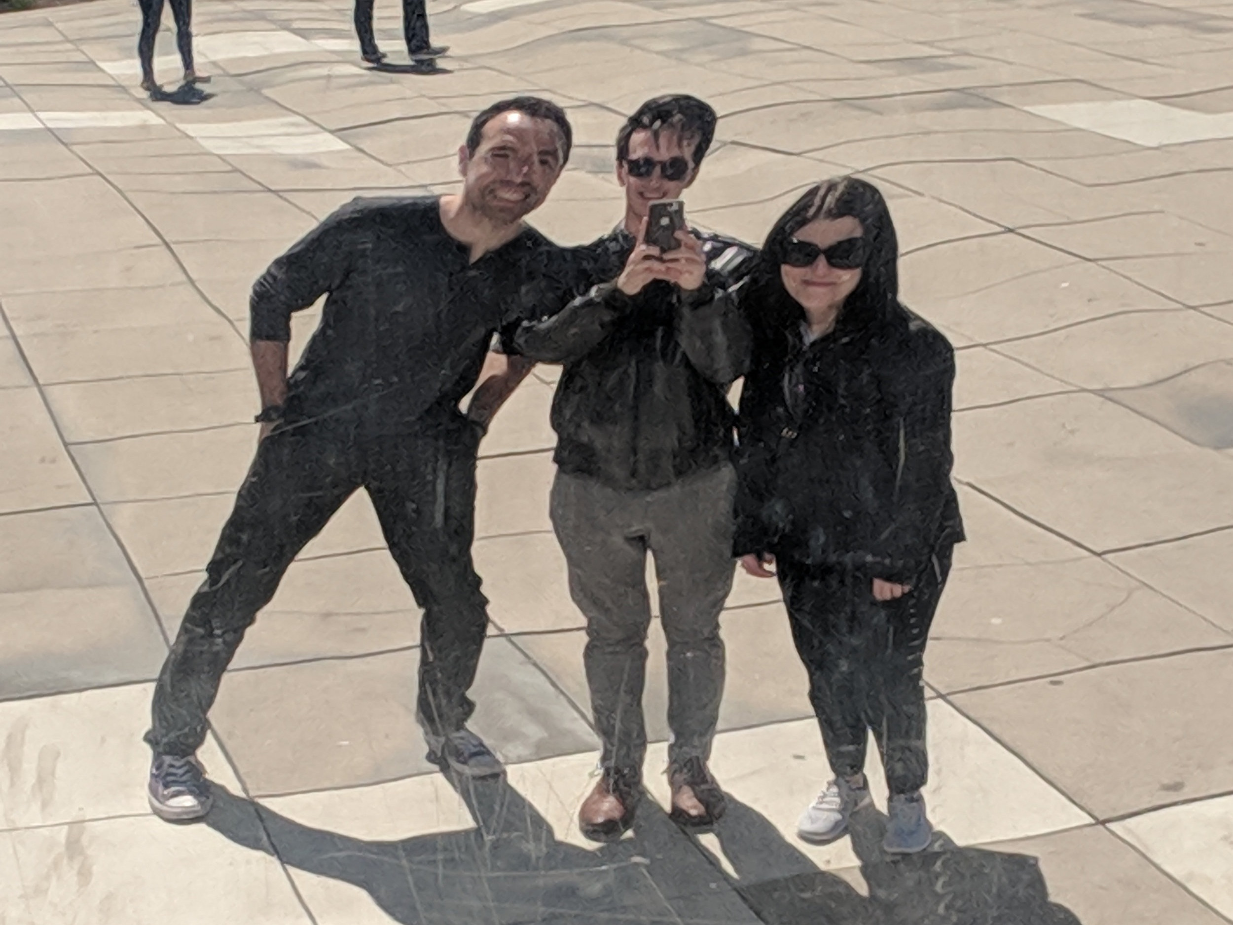 OKW's Wellness Committee (left to right: Dan, Anders, Renee)