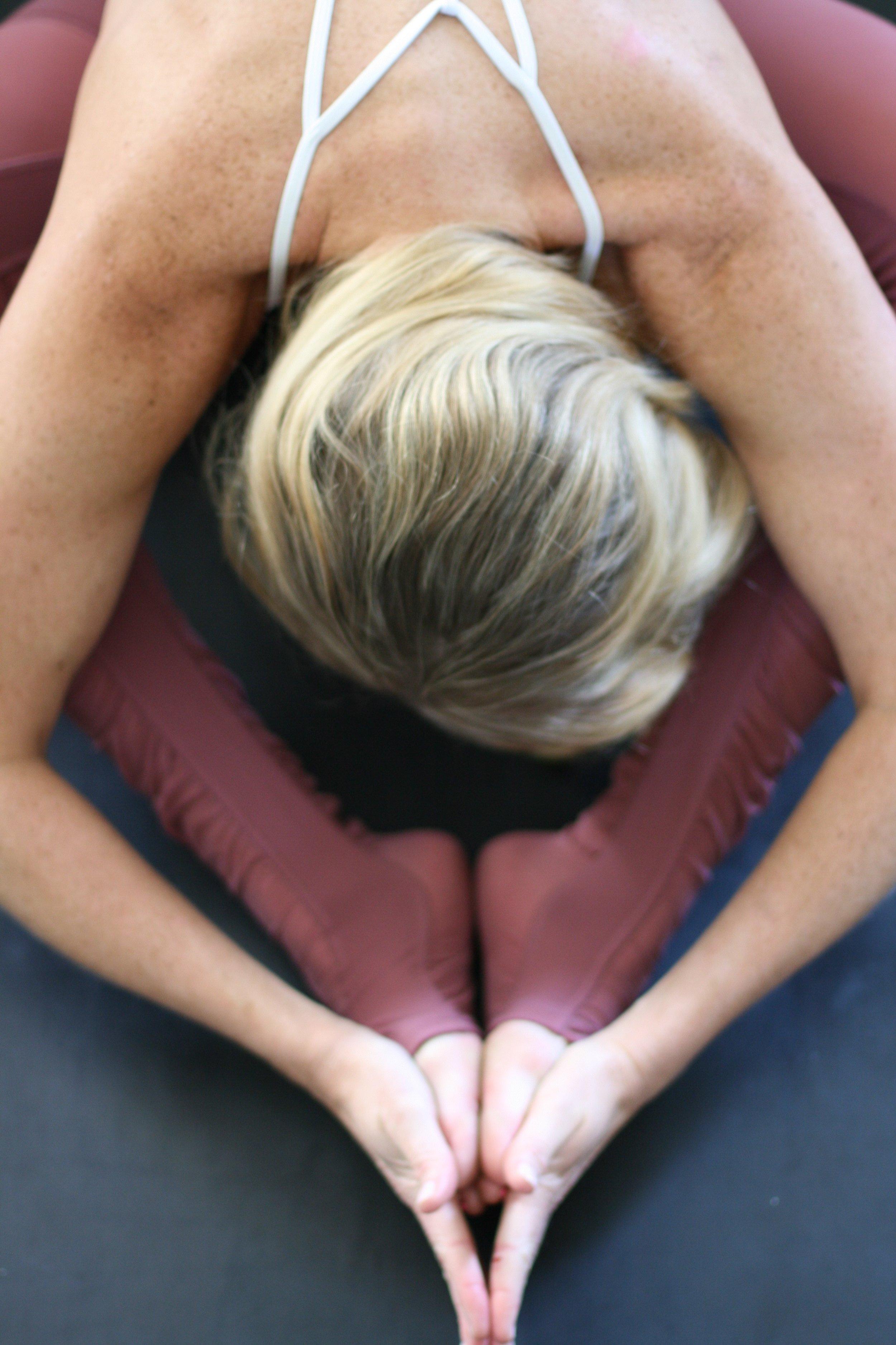 Wearing  Alo Yoga