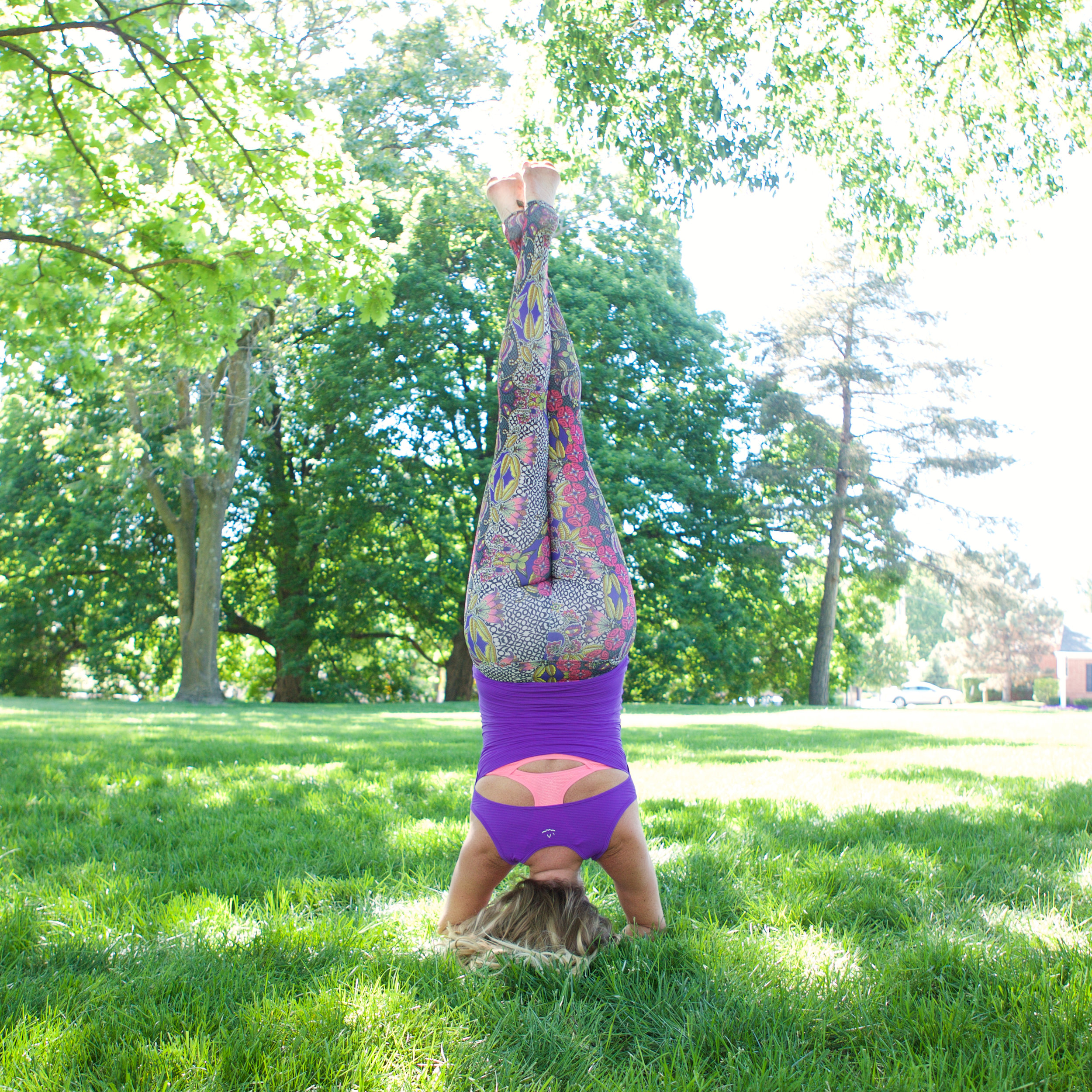 Outfit: Pants -->  Onzie  Top -->  Beyond Yoga