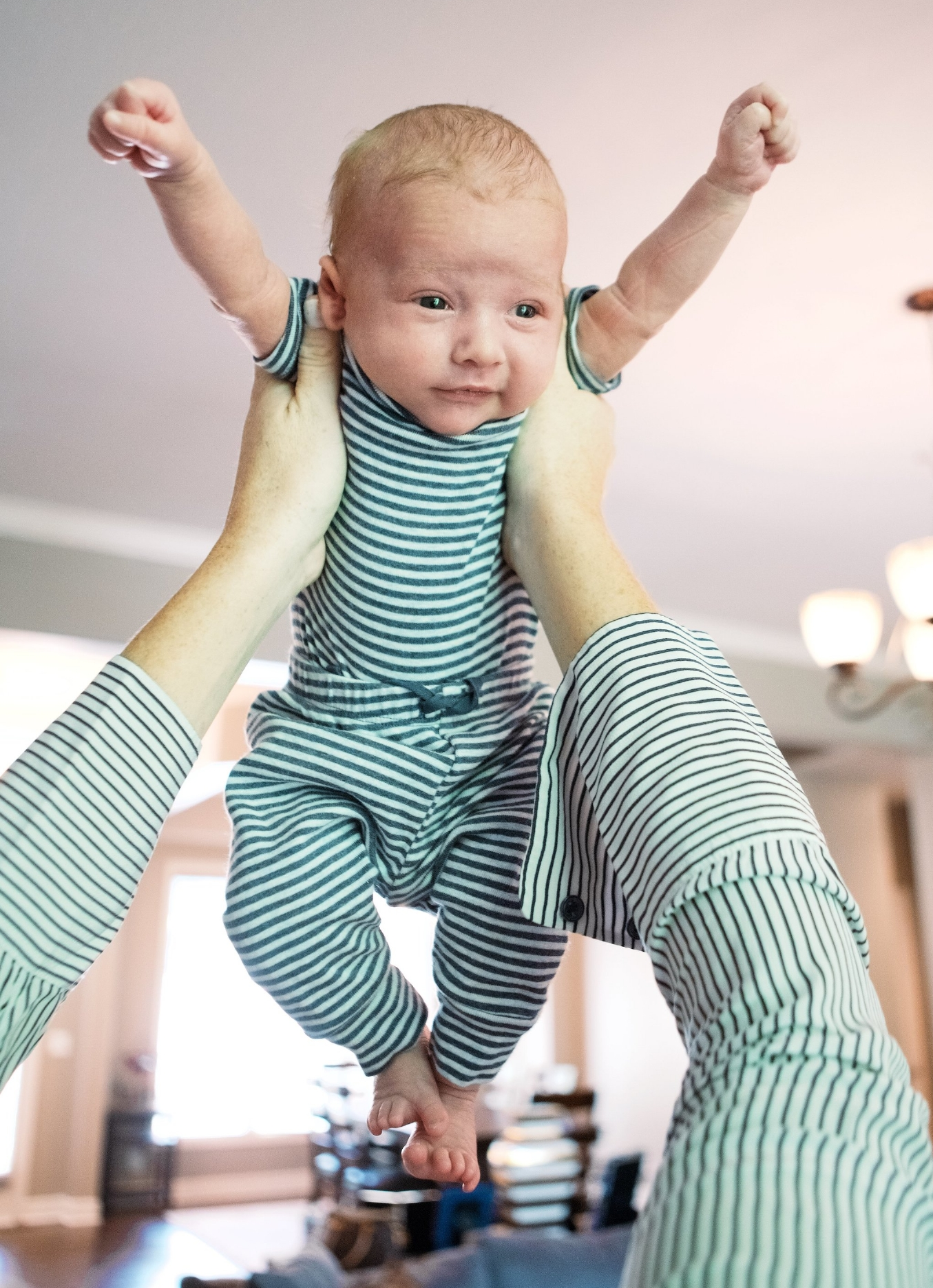 Baby Outfit =  BabyGap  Mama Outfit:  Joie  How long can I keep twinning our outfits :)?