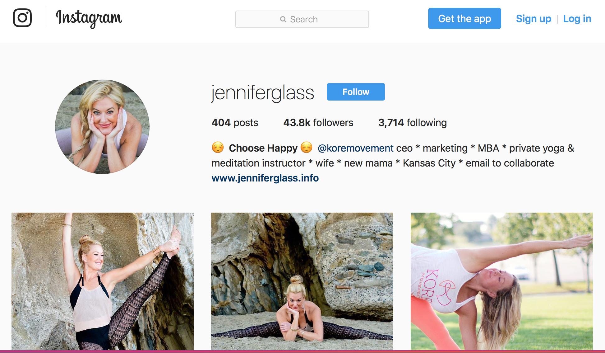 Instagram.com/JenniferGlass