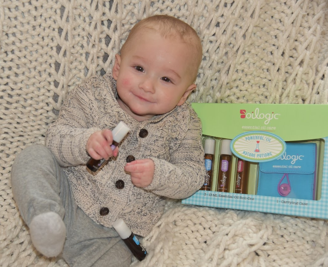 Baby Outfit:  Peek Kids Clothing  Sweater Now On Sale :)  Essential Oils: Oilogic Care  On-the-Go Gift Set