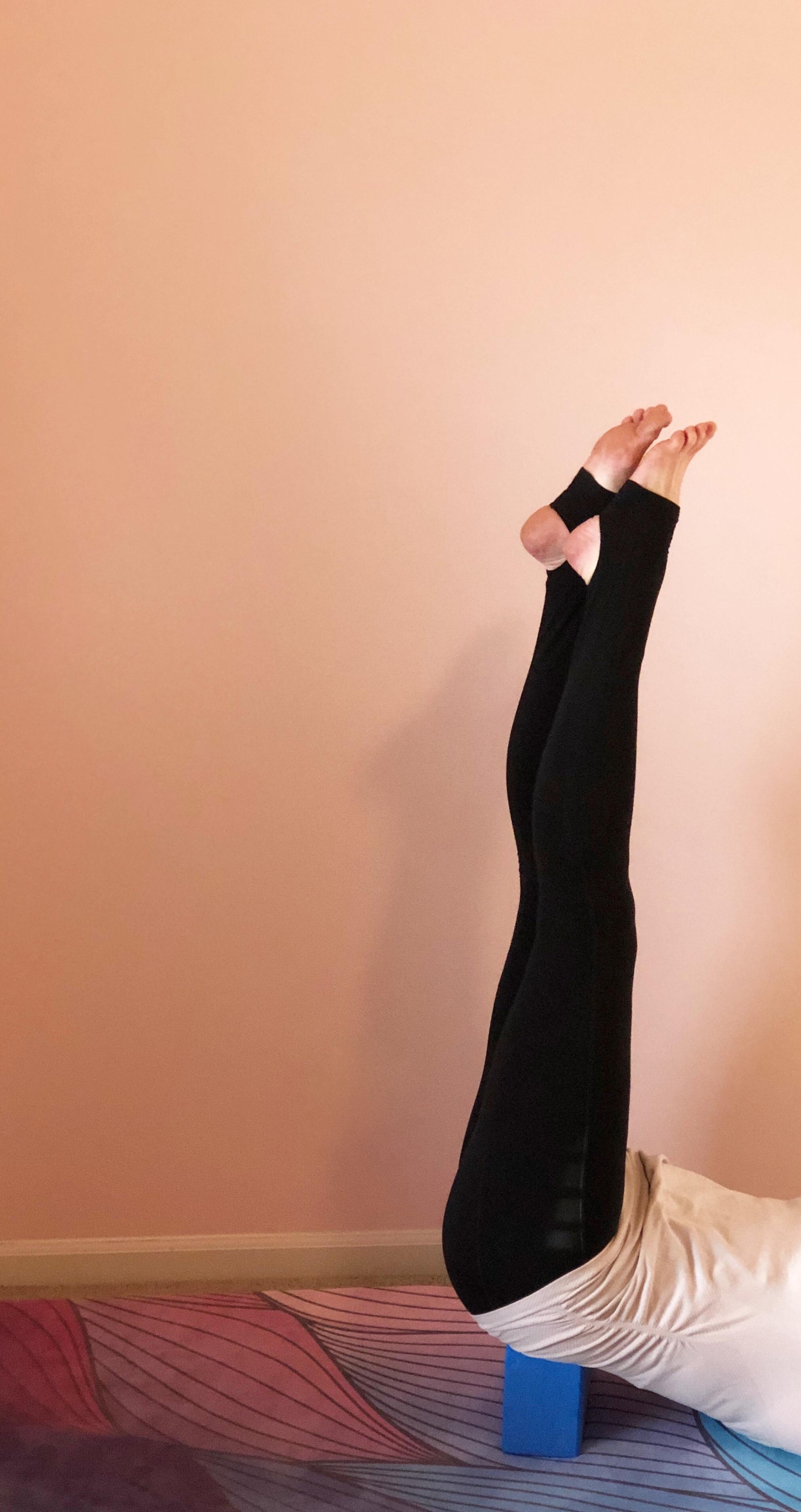Outfit:  Athleta  Yoga Mat + Block:  Zura