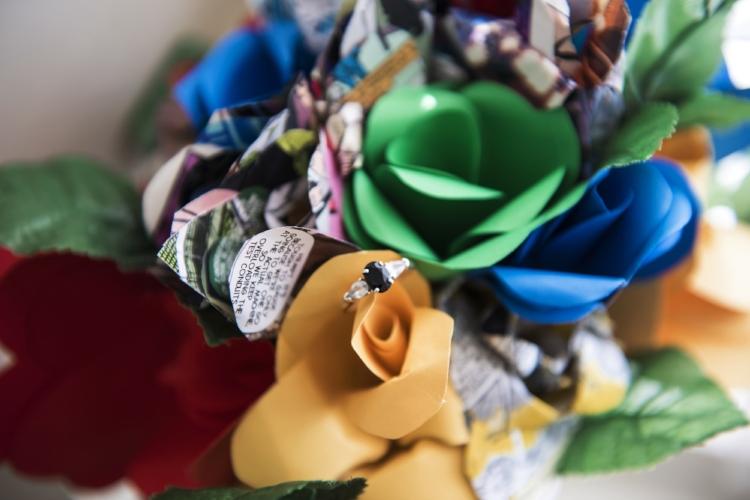 Erin's bouquet