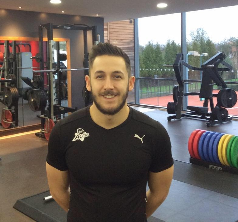 This is Henry Davies, our resident personal trainer, for those who need to familiarise themselves with our PT guru.