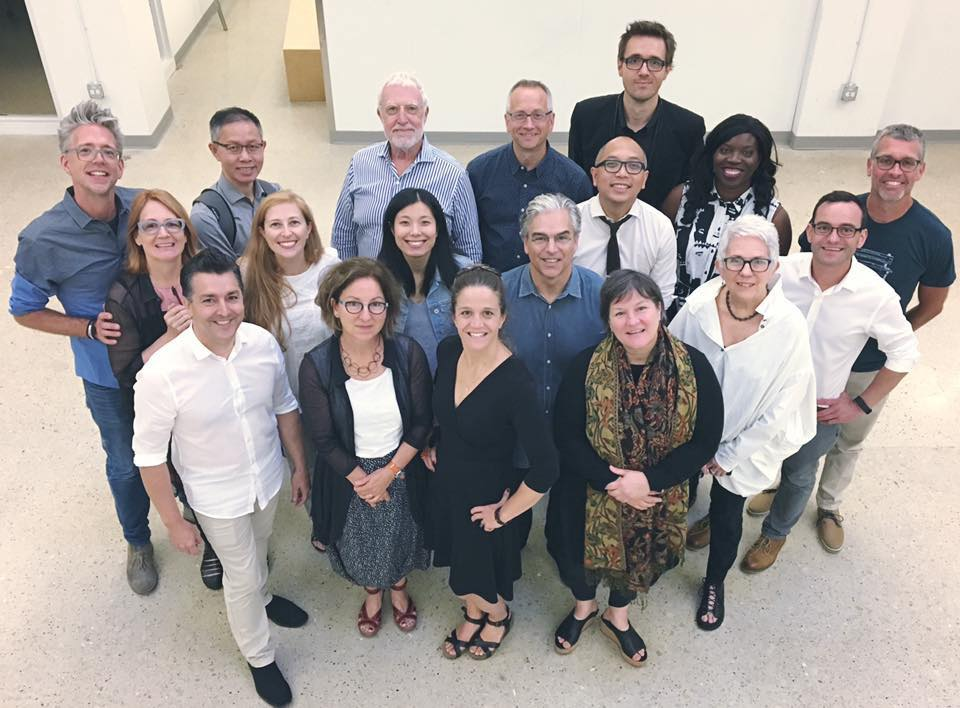 2017 Winterhouse Symposium participants at UIC School of Design