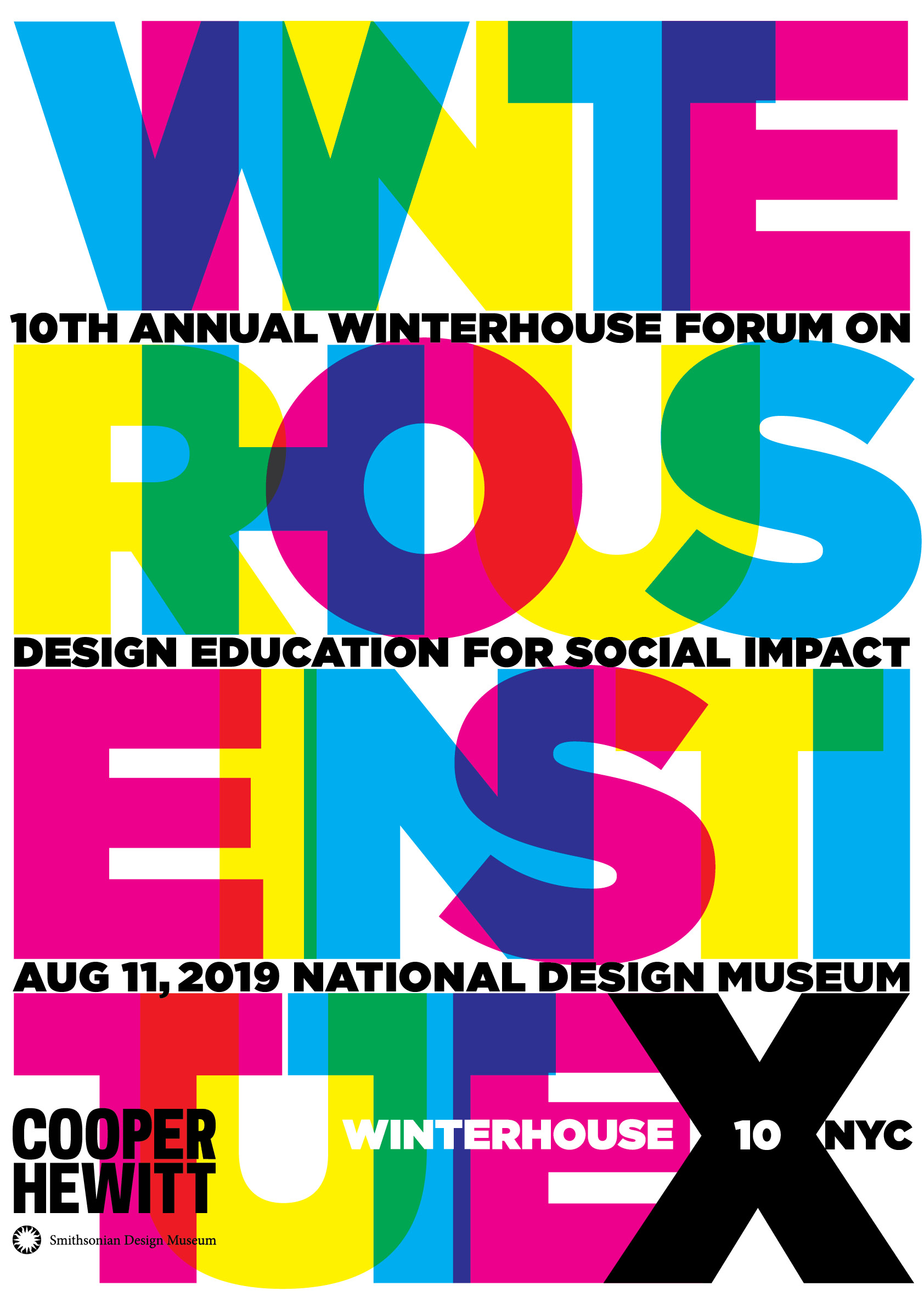 We're excited to celebrate the 10th anniversary of the annual Winterhouse Symposium in 2019 in collaboration with the Cooper Hewitt Smithsonian Design Museum in New York City.