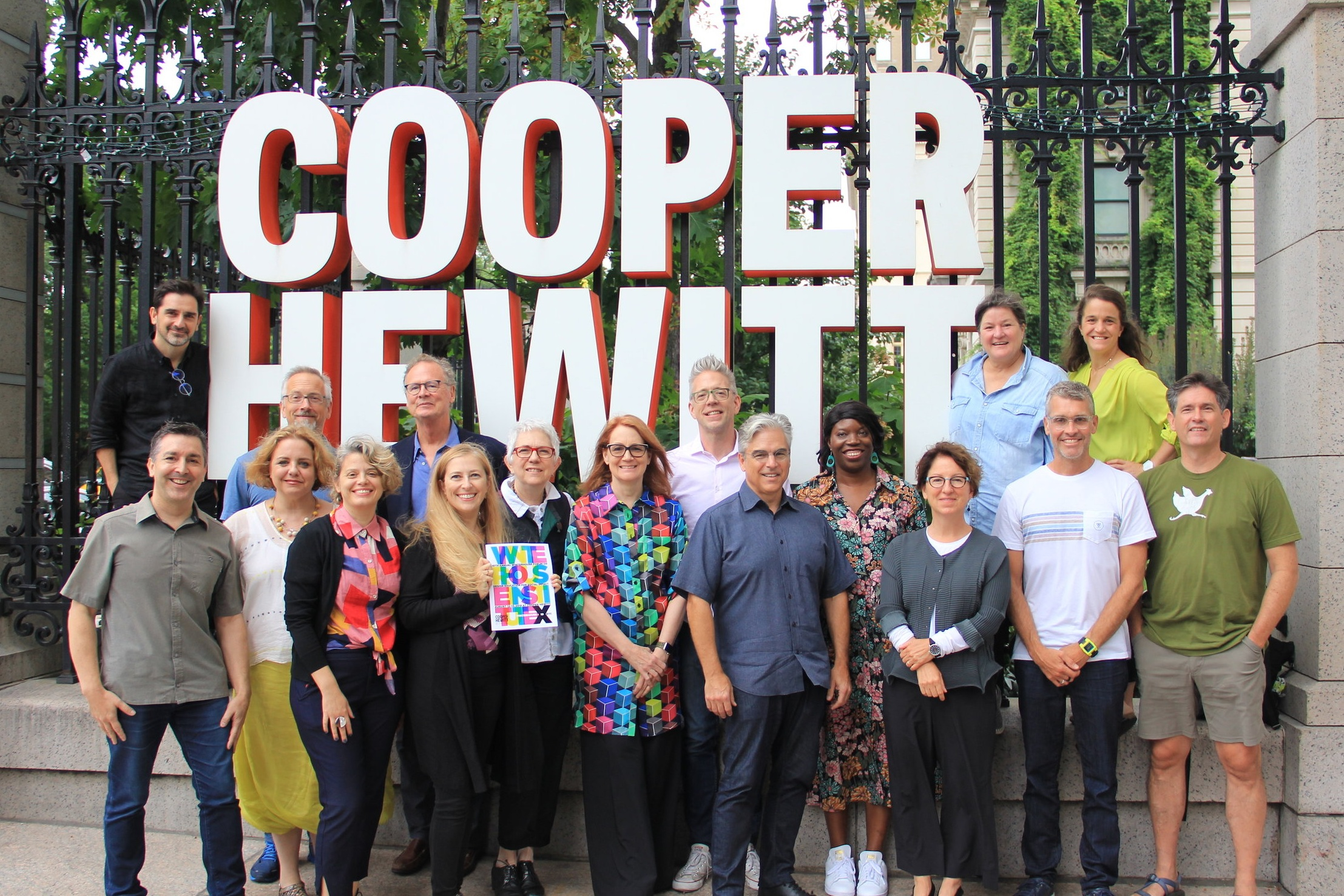 2019 Winterhouse Institute Advisory Council members at Cooper Hewitt