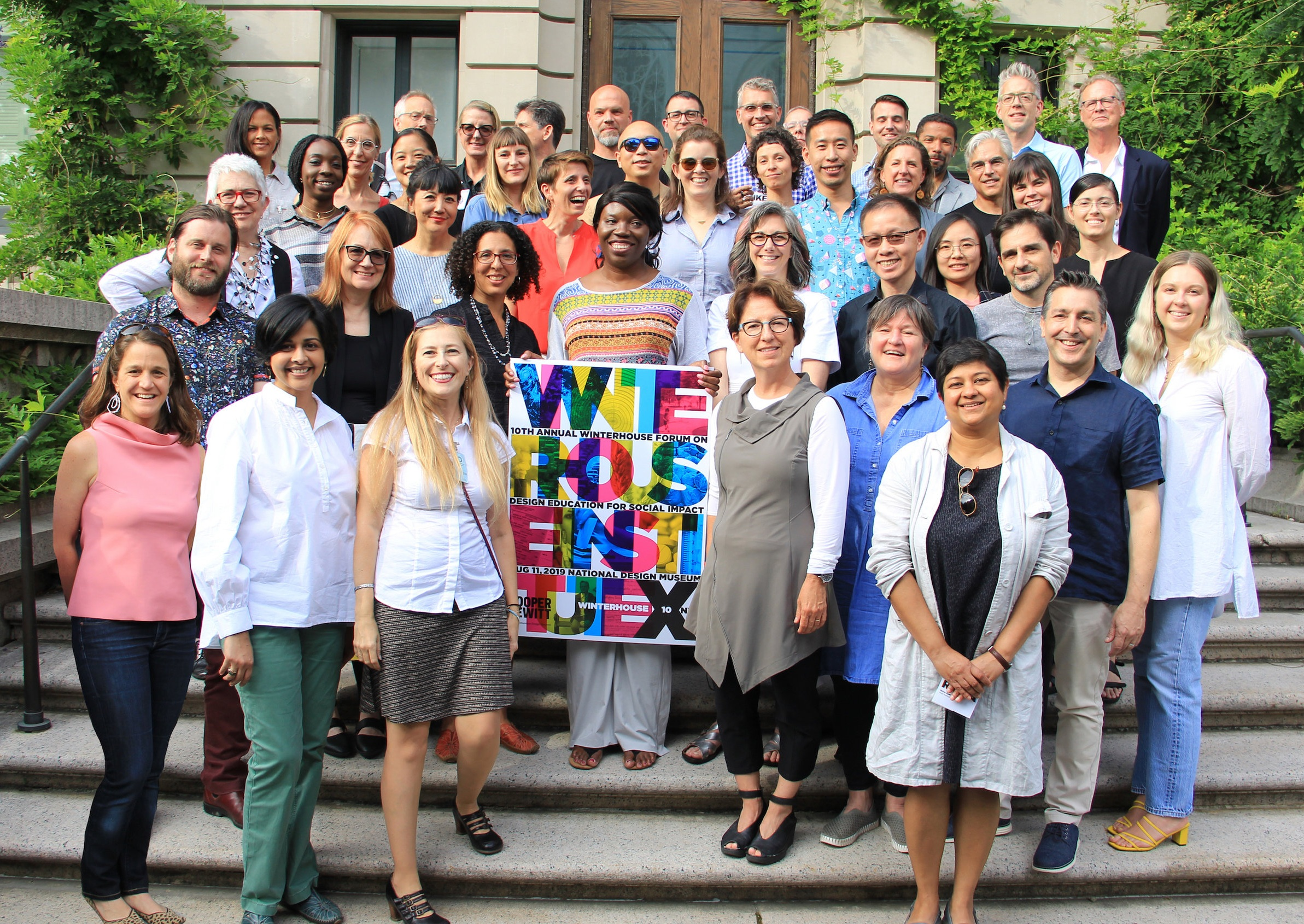 2019 Winterhouse Symposium participants at Cooper Hewitt