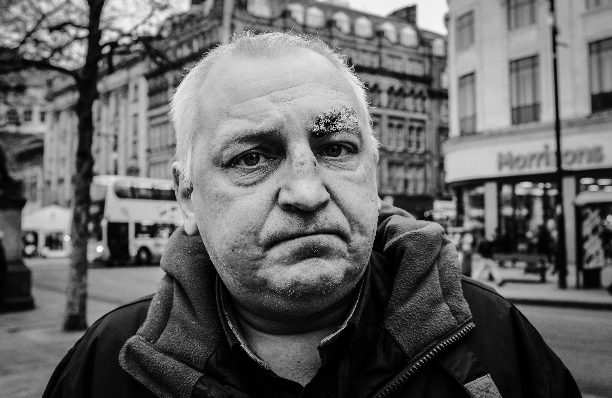 Image:keithvaughton, Faces of Manchester,  Flickr