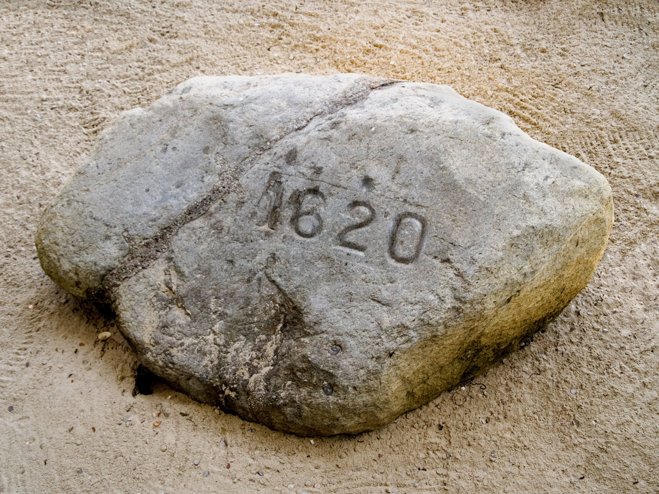 People today celebrate Plymouth Rock, but we don't know if the Pilgrims actually landed here.