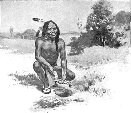 Squanto taught the Pilgrims how to plant corn in the New World.