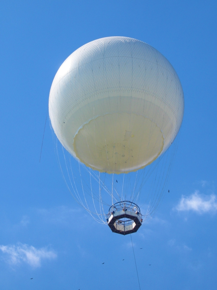 Scientists can send weather balloons into the sky to study the atmosphere, but weather balloons can't reach the mesosphere.
