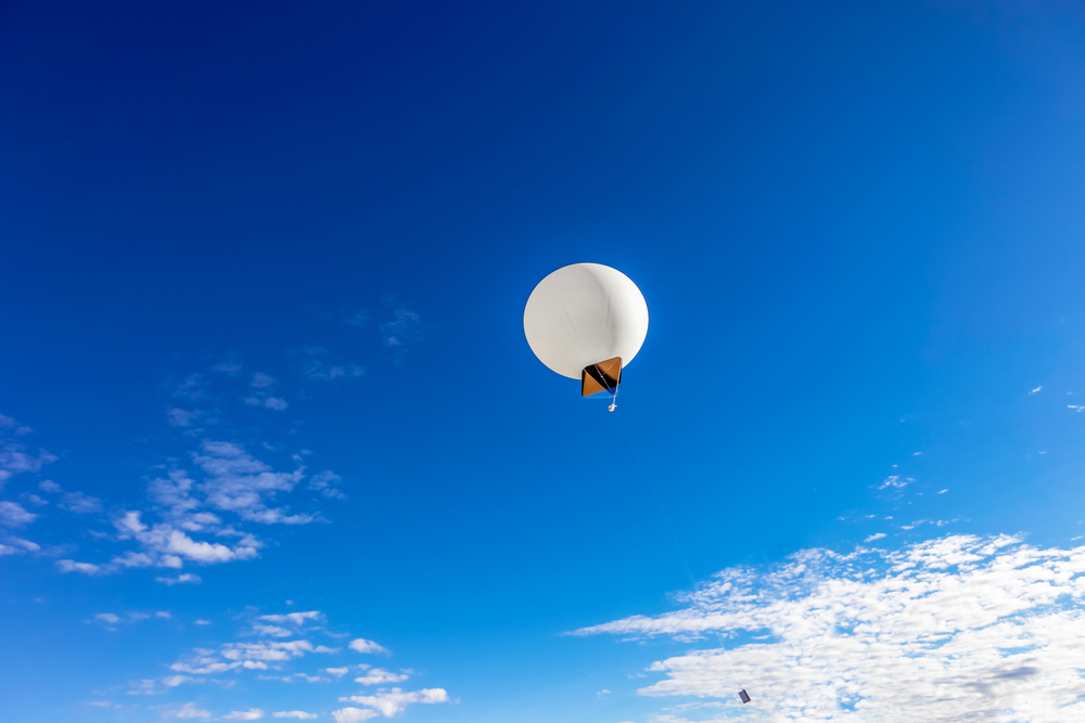 Weather balloons can be used to study the stratosphere.