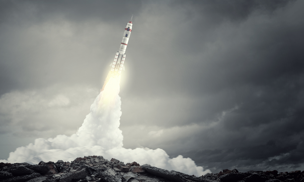 Scientists can get information about the mesosphere when rockets pass through it.