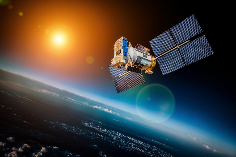 Satellites can orbit the Earth within the exosphere.