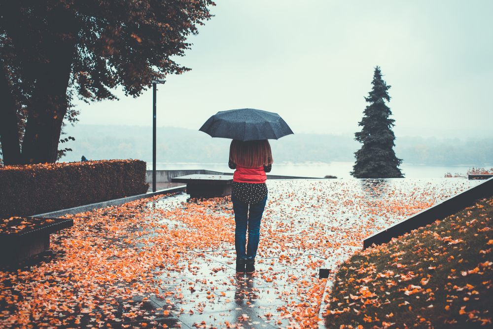 One type of precipitation is rain.