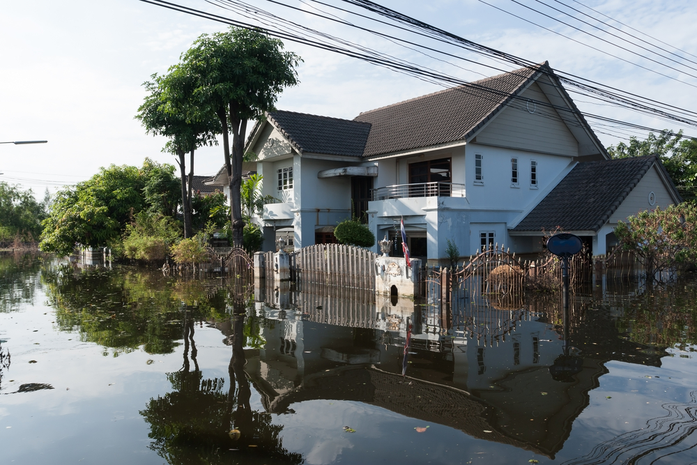 Homes along the coast may be flooded if the oceans rise.