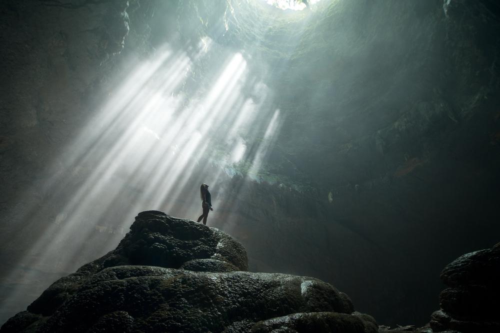 A cave