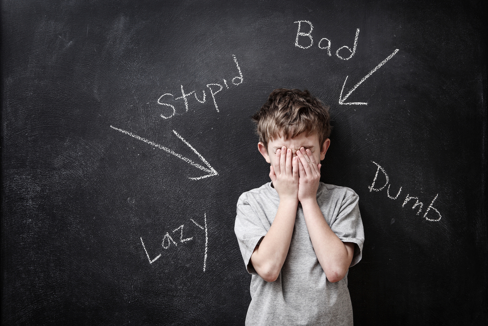 Kids often give themselves labels that don't encourage them to keep trying. A kids needs to believe he can be successful in order to be successful.