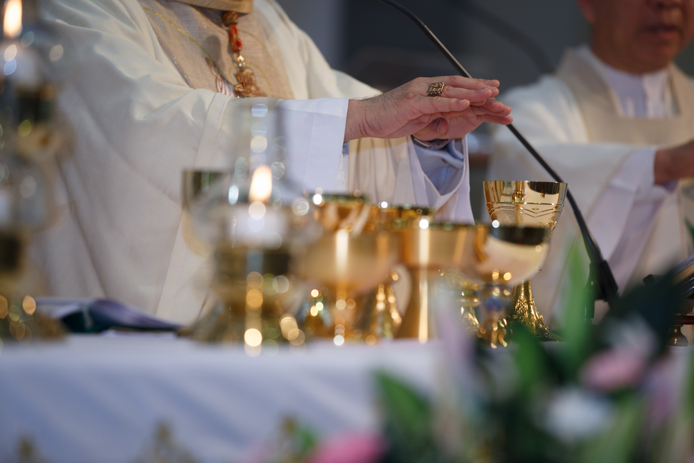 Mass was said in latin until 1962.