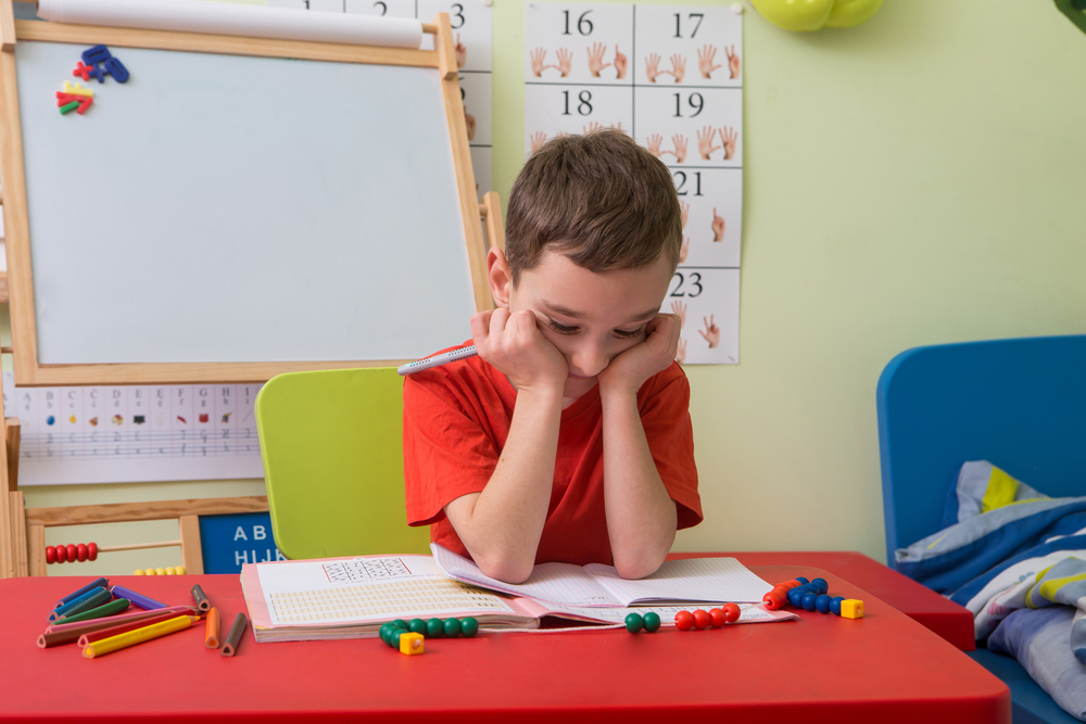When kids get overwhelmed, they can shut down.