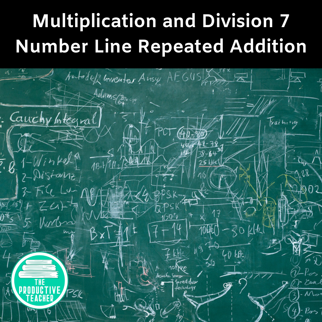 Repeated Addition on a Number Line