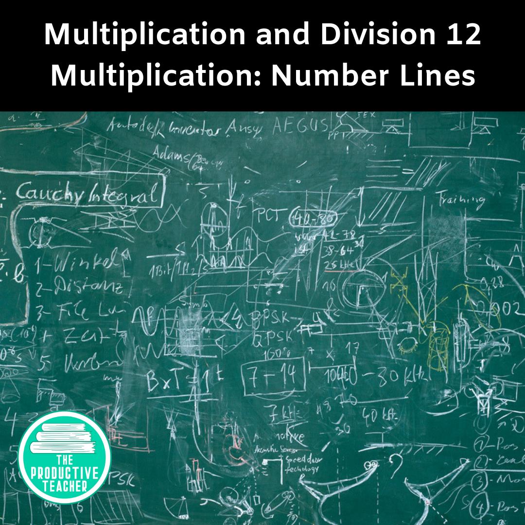 Multiplication: Number Lines