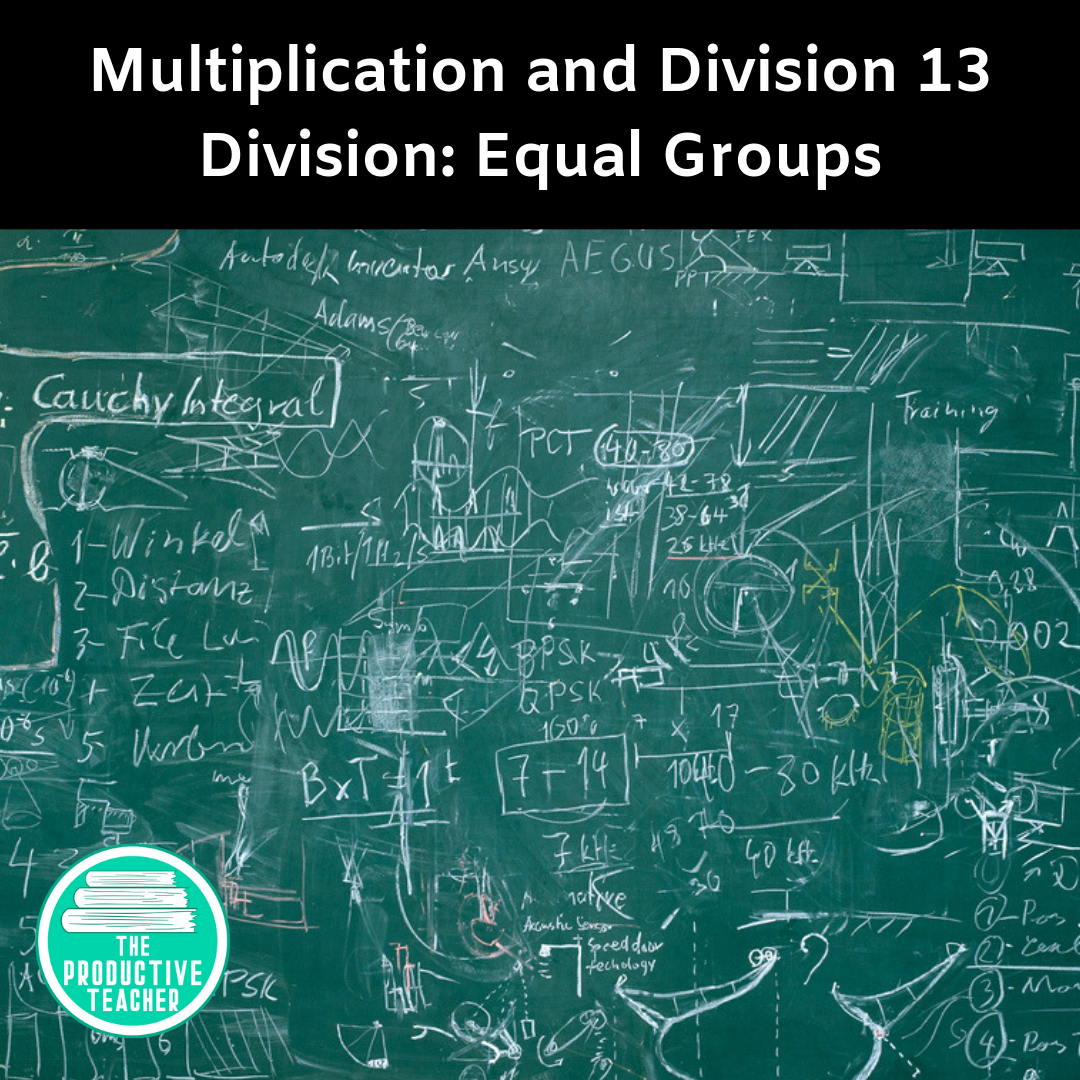 Division: Equal Groups