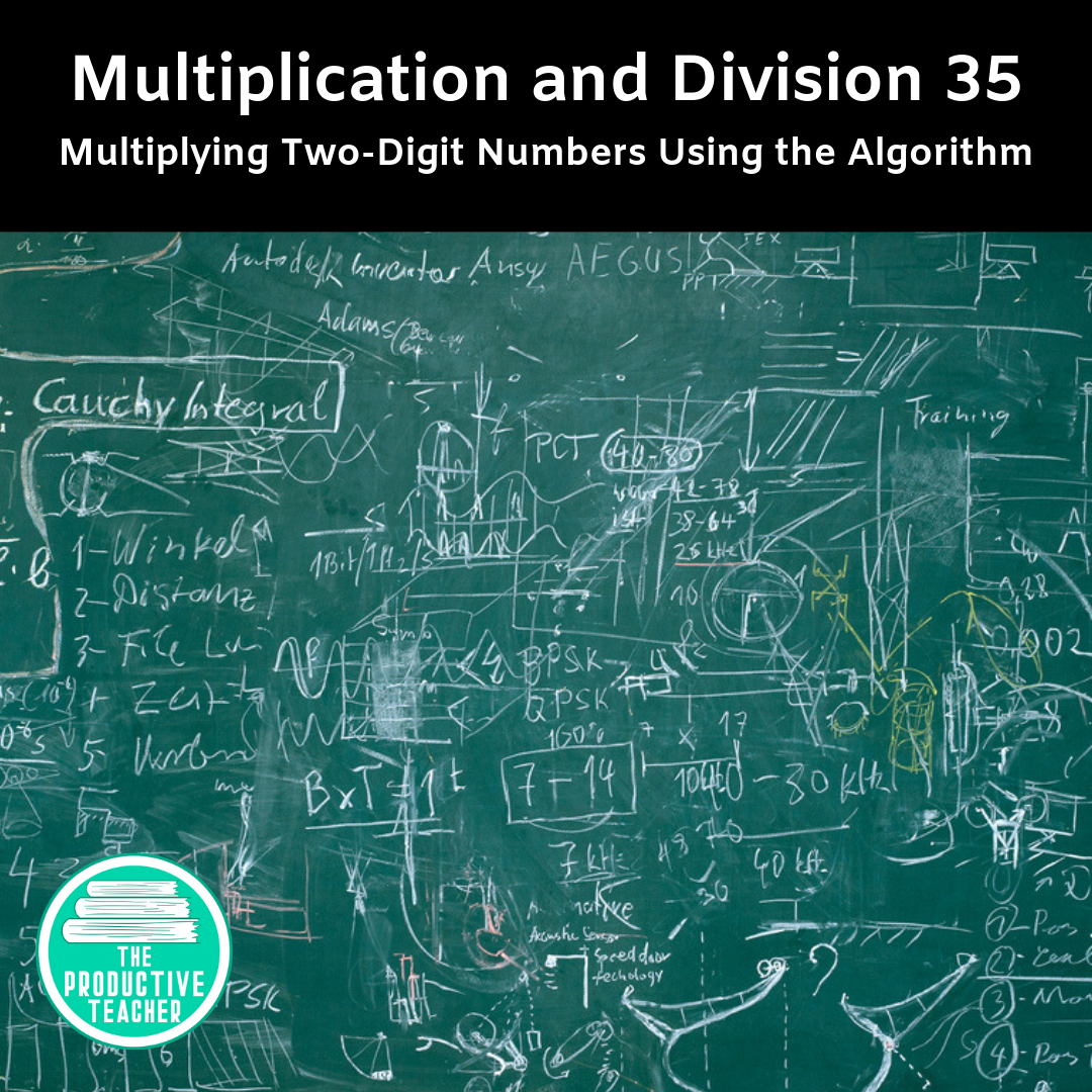 Multiplying Two-Digit Numbers Using the Algorithm