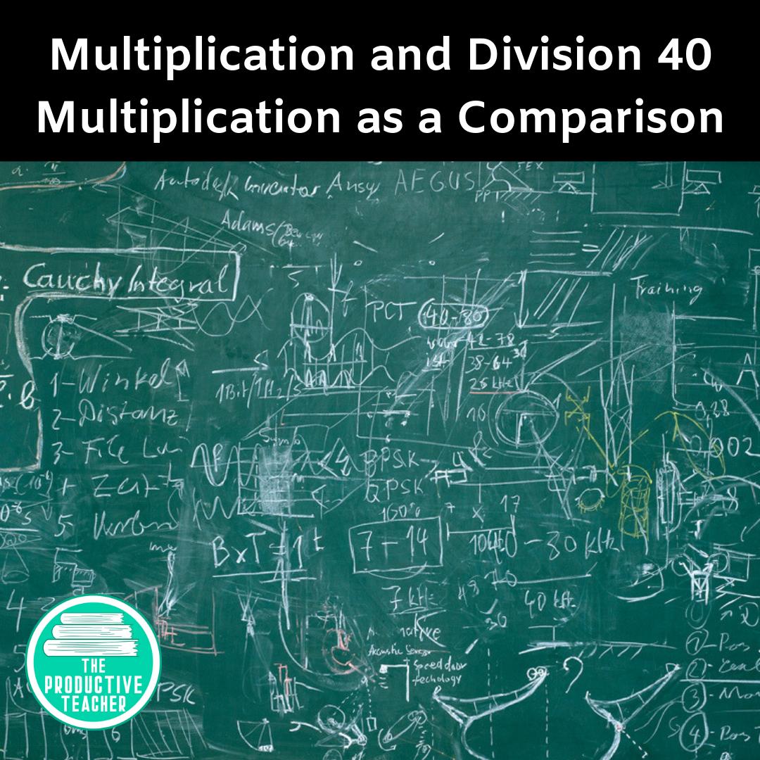 Multiplication as a Comparison