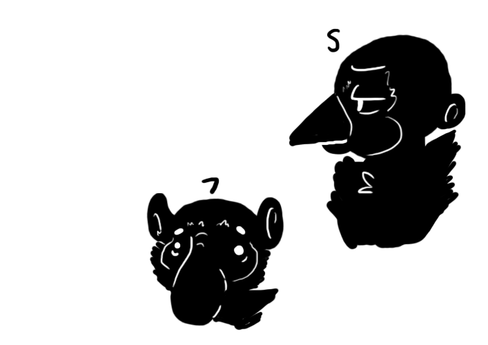Detailed Head Silhouettes