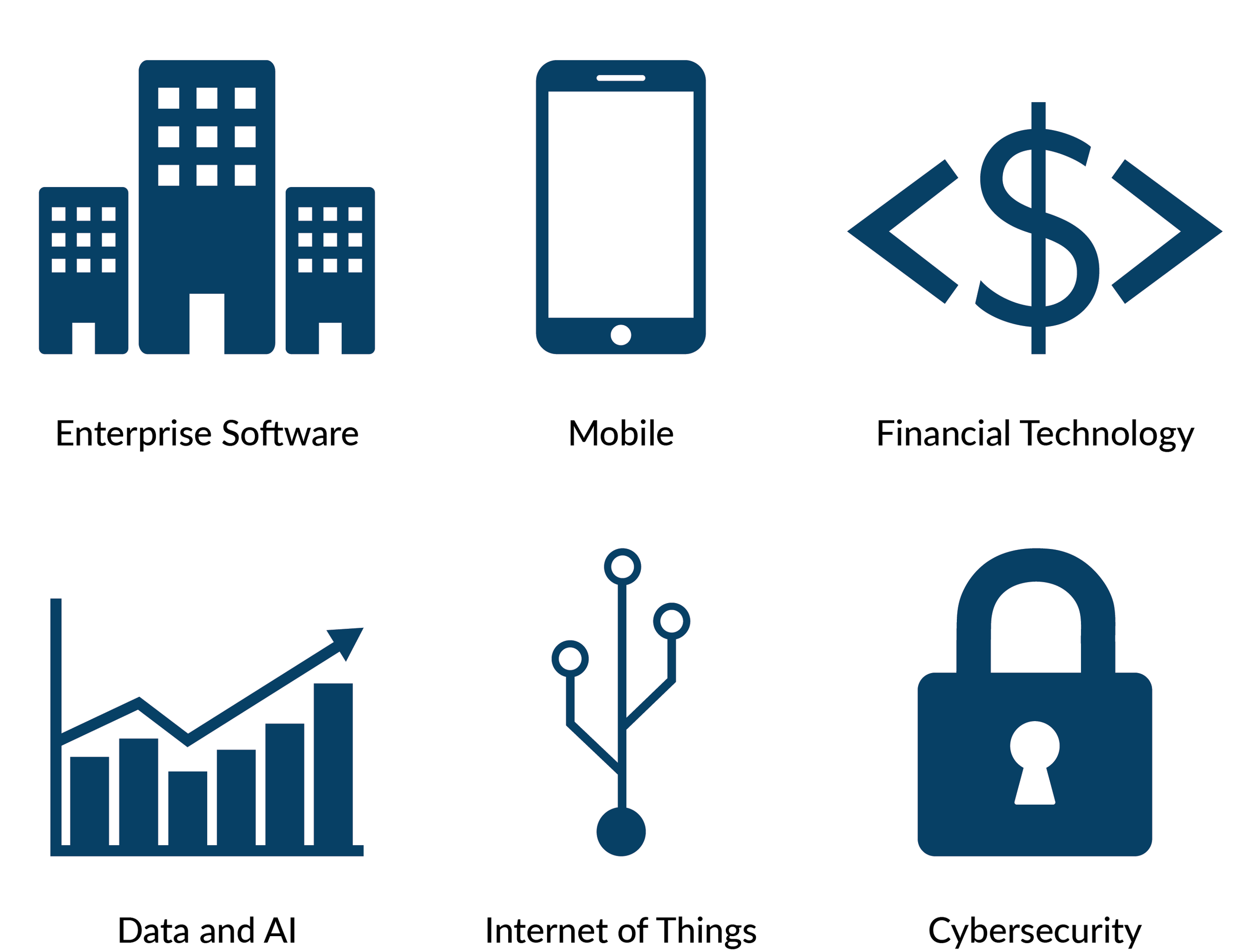 Enterprise Software                 Mobile                  Financial Technology