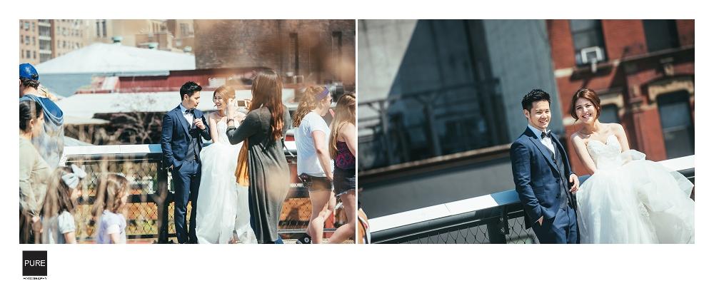 PUREFOTO_海外婚紗攝影Oversea_Prewedding_Highline紐約婚紗