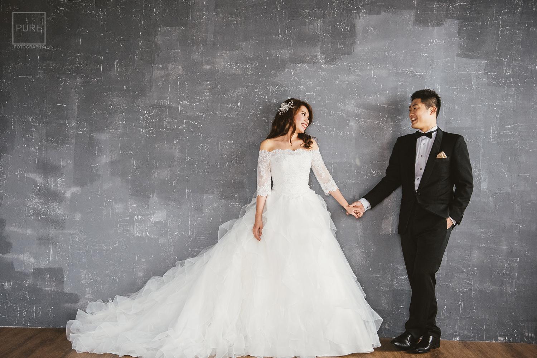PUREFOTO_台灣自助婚紗攝影Prewedding_攝影棚婚紗攝影