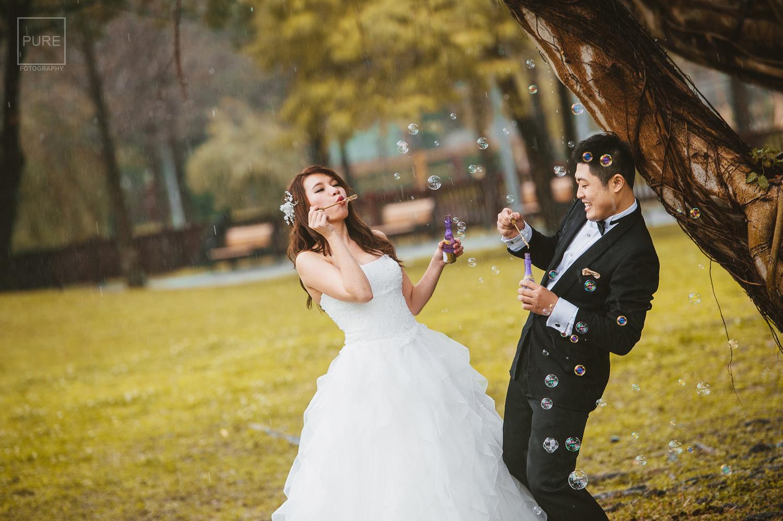 PUREFOTO_台灣自助婚紗攝影Prewedding_泡泡自助婚紗