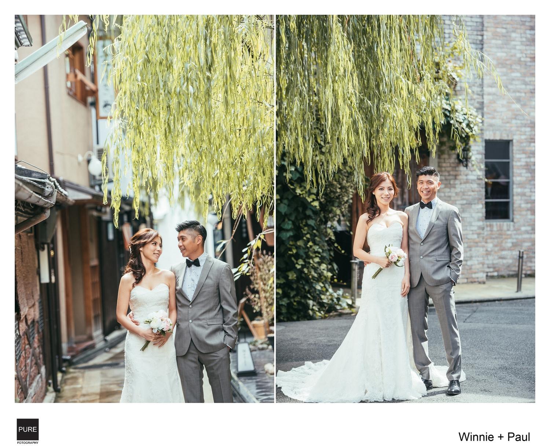 PUREFOTO_海外婚紗攝影Oversea_Prewedding_京都旅遊小巷拍攝景點