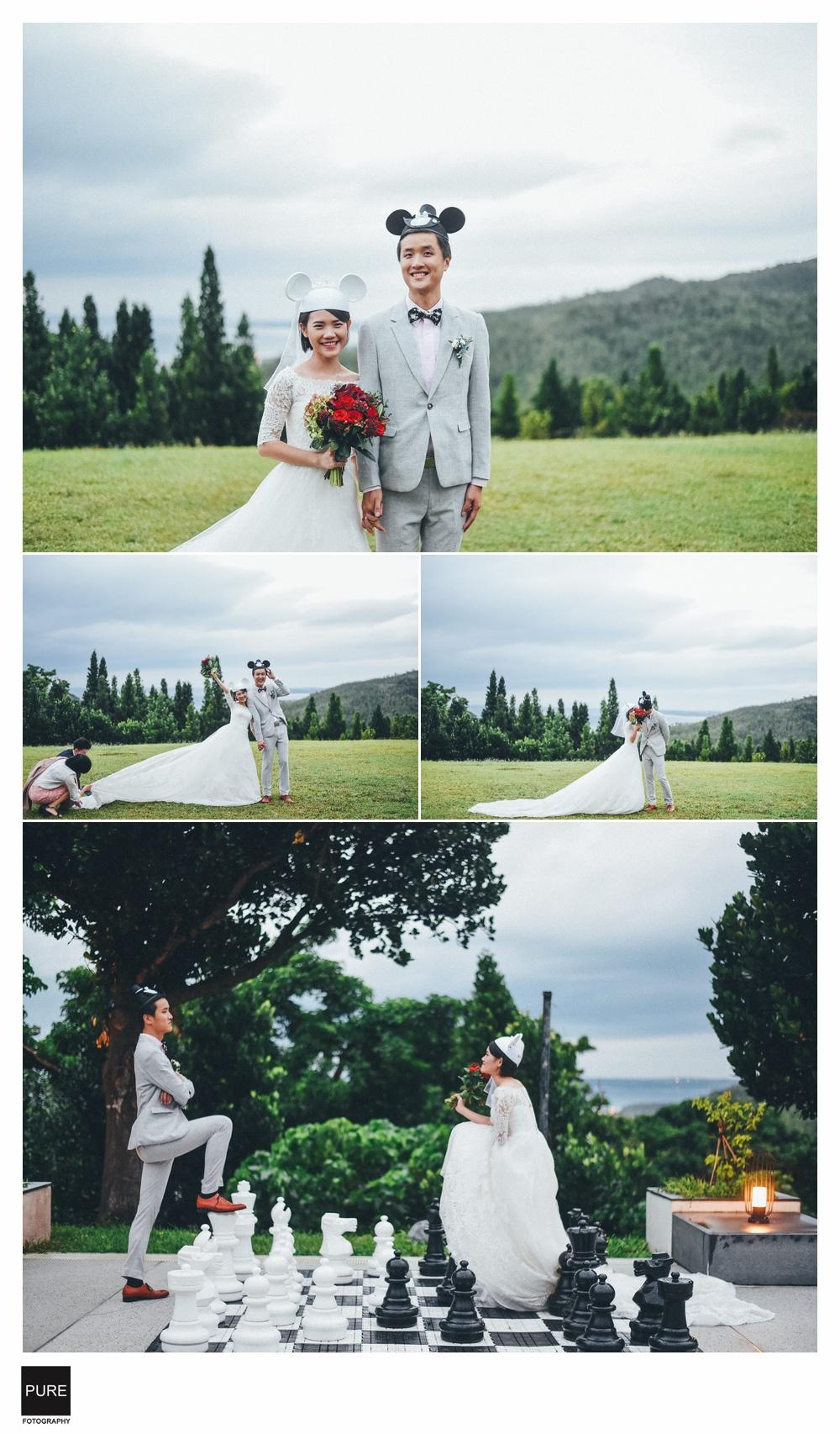 PUREFOTO_台灣婚禮平面攝影wedding_墾丁華泰瑞苑類婚紗拍攝