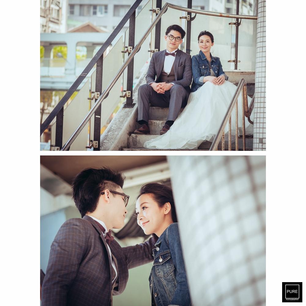 PUREFOTO_台灣自助婚紗攝影Prewedding_台北街拍婚紗