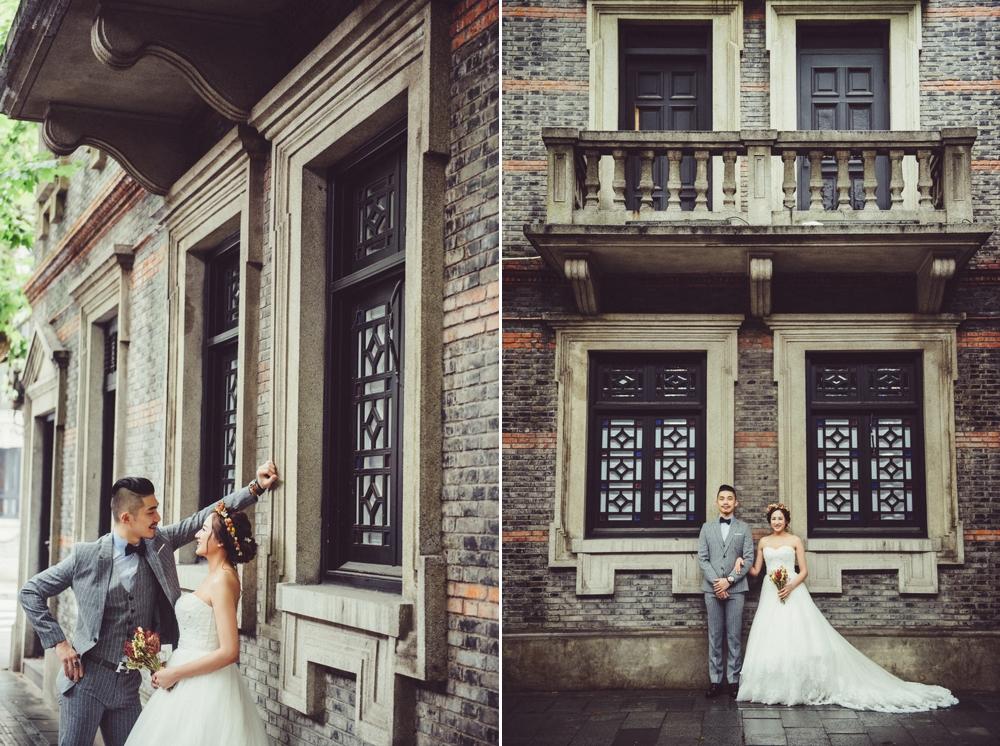 PUREFOTO_海外婚紗攝影Oversea_Prewedding_上海老街景婚紗