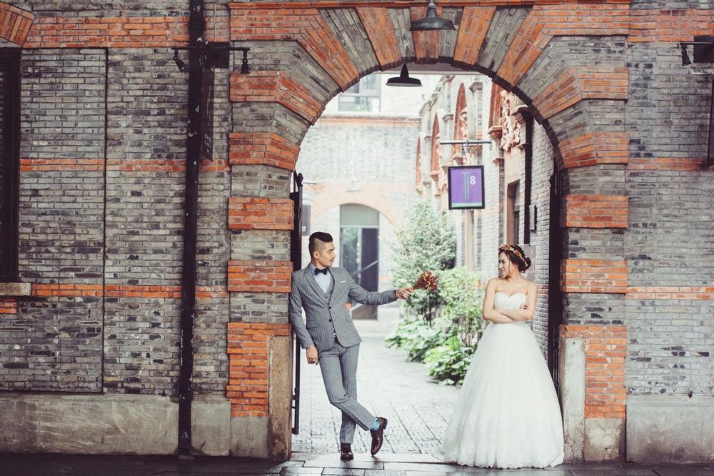 PUREFOTO_海外婚紗攝影Oversea_Prewedding_上海新天地婚紗拍攝